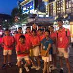 Estudiantes de chino en China