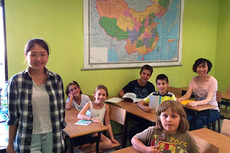 profesores nativos de chino