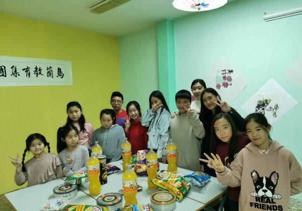 Academia Wulan alumnos celebración