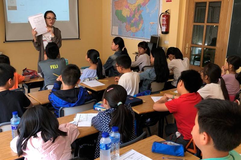 academia de chino en Madrid